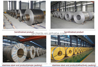 Slit edge 2b finish cold rolled stainless steel coil