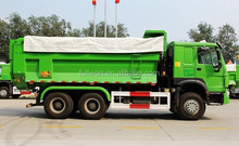 HOT SALE 10 wheel 15 ton tipper truck size
