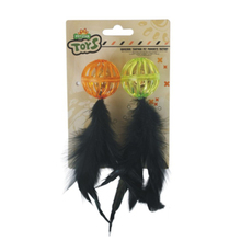 Latest Popular Hot Sale Pet Cat Toy Feather Teaser
