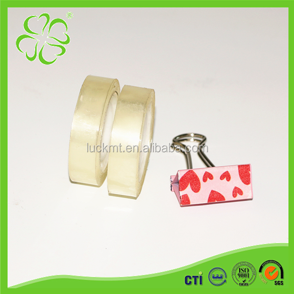 Office Use Transparent Bopp Stationery Adhesive Tape