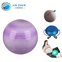 17.11.80 gymball stand 95cm anti-brust gym ball exercise for health colorfull yoga ball