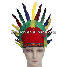 Fashion Indian Feather Carnival Headdress