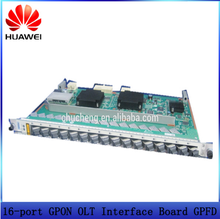 Huawei GPFD 16 port GPON OLT Interface Board of MA5608T MA5683T MA5680T