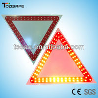 LED Flashing Give Way Traffic Sign