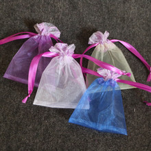 Large Custom Wholesale Cheap Organza Bags 4x6 inches