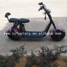 2017 citycoco 2 wheel 1000w electric scooter,front and rear shock suspension adult electric motorcycle