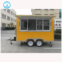 fried ice cream roll trailer camper van canvas roof
