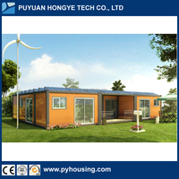 2016 Designed Prefabricated House Personal Villa Modular House Using Solar Power System
