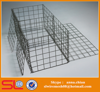 Stainless Steel Gabion Wire Basket for Stone Retaining Wall