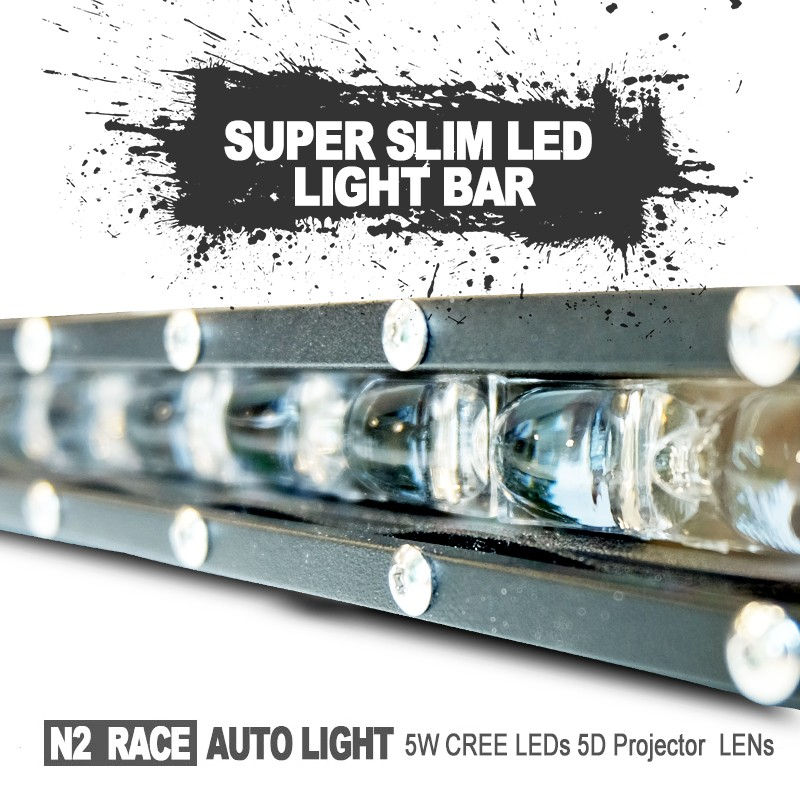 China car accessories Super bright high lumen 288W curved led bar light,50'' led light bar Off road for track,auto led