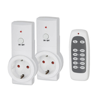 Smart Wireless Remote Controlled Socket Switches