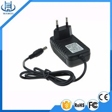5v 0.6a power adapter wall type, 5.5mm - 2.1mm connector, eu/us plug