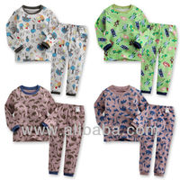 "[Made in Korea]2pcs Baby Toddler Kids Girl Boy Clothes Sleepwear Pajama Set""Oh~! Boy"""
