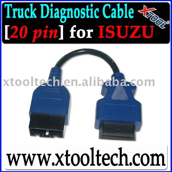 [20PIN] OBD2 Truck Cable for ISUZU TECH2 Truck Tool