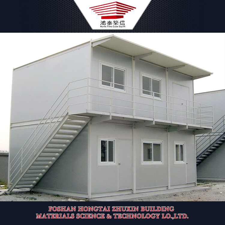 40ft Modular Container Homes Covered by Sandwich Panels