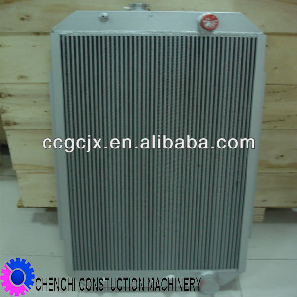 R220-5 excavator engine parts hydraulic oil radiator cooler system