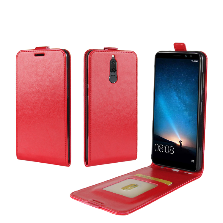 Crazy Horse Premium Flip PU Leather Phone Case For Huawei Mate 10 Lite / Nova 2i / Maimang 6 / <strong>G10</strong> / Honor 9i