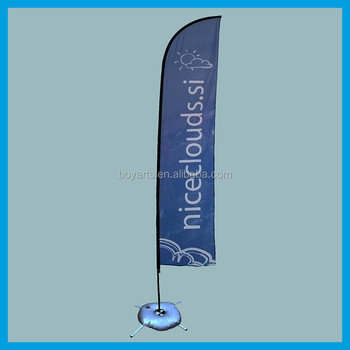 promotional wind feather flag