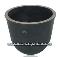 high pure graphite crucible for tungsten carbide melting metal