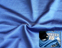 light weight polyester warp knit tricot velvet fabric for football cloths lining