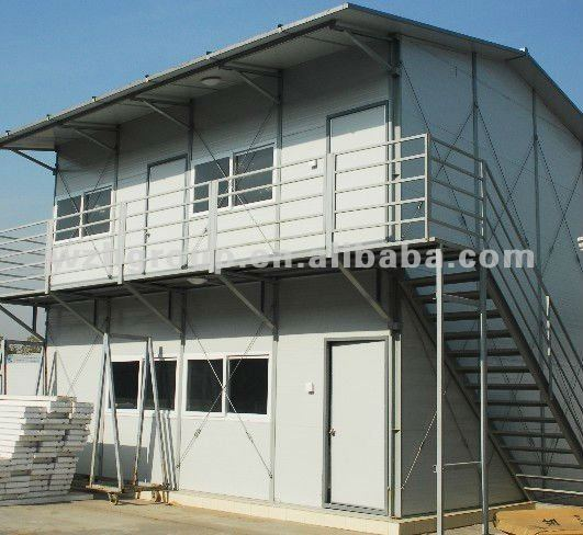 Low cost prefab house, prefabricated house, modern house designs exported to nepal