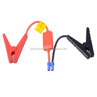 12V/24V sillicon EC5 car booster jump cable for emergency 6/8/10gauge with fuse and LED