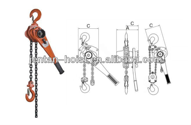 Construction tools Lever Hoist Machine price