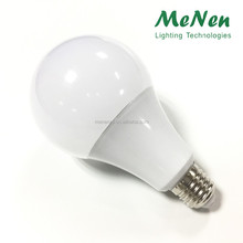 Hot sale intelligent led chargeable emergency light global bulb 12W 270 degree