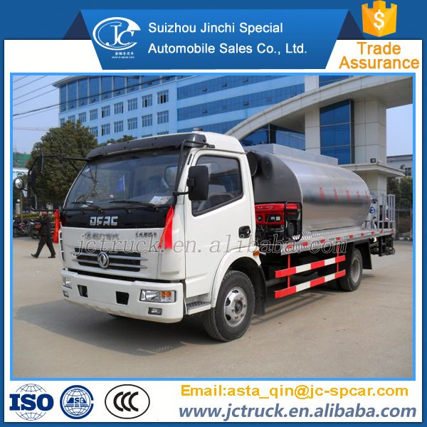 Alibaba Euro 3 asphalt emulsion distribute truck for hot sale