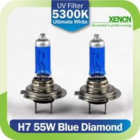 XENCN H7 12V 55W 5300K PX26d New Blue Diamond Light Car Headlight Halogen Bulbs Xenon Ultimate White Mercedes High Low Beams