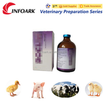 10% Oxytetracycline Injection of GMP Pharmaceutical Veterinary antibiotic medicine