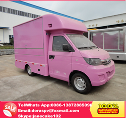 China new mini fast food van for sale, mobile food van , food van price