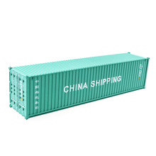 "Plastic cargo container models miniature 1:87 scale 40'FT ""CHINA SHIPPING"" shipping container models shipping container toys"