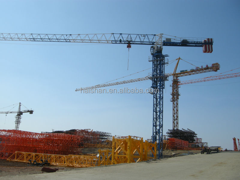 8T Topless Tower Crane Series with slewing motor