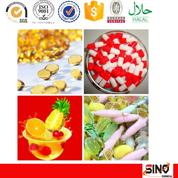 Food grade 220 bloom gelatin powder edible gelatin