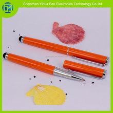 Hot new products for 2015 fine point stylus pen for iPad,2 in 1 pad stylus with roller pen,2 in 1 pad roller touch pen