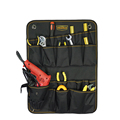 High density electrician folding wall tool bag,tool organiser for hardware on wall