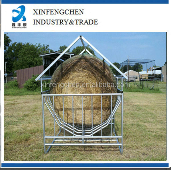 Metal Hay Covers : Protable hay feeder with cover pig cow tank buy