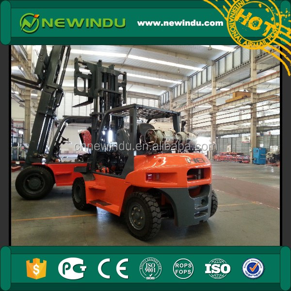 New HELI 6t Gasoline/LPG clamp Forklift Truck CPQYD60 forklift with cotton bale clamp