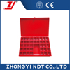 NDT X-RAY Radiography Testing Material Lead Marker Storage Box