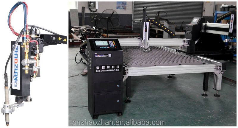 Rack and gear transmission cnc plate plasma cutting machine