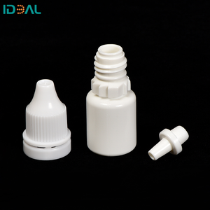 Factory Wholesale10ml 15ml Empty Plastic Squeezable Dropper Bottles Eye Liquid Dropper with Childproof Cap and Plug