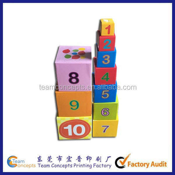 10-Piece Alphabet Nesting and Stacking Blocks