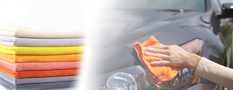 OEM service multipurpose cleaning car drying microfiber towel ihram