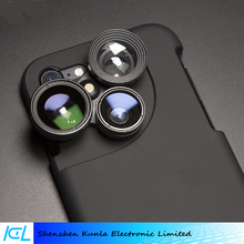 Rotating mobile phone SLR lens With shell wide angle macro fisheye lens