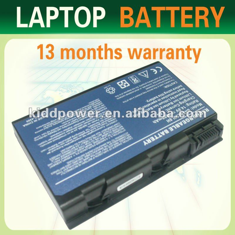 External laptop battery for Acer TravelMate 4200/4203 For Acer Aspire 3100/3102/5100/5102/5110/5610/5612/9100/9410/9500/9800