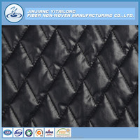 Good Leather Padding Quilt Fabric 2 Layer Quilting for Jacket and Coat Quilting Manufacture in China