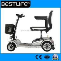 Mini 4 Wheel Folding Electric Mobility Scooter CE Approved For Handicapped