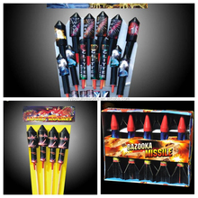 factory wholesale sky bottle thunder rocket assortment fireworks