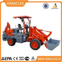 mini CE garden tractor front end loader for sale